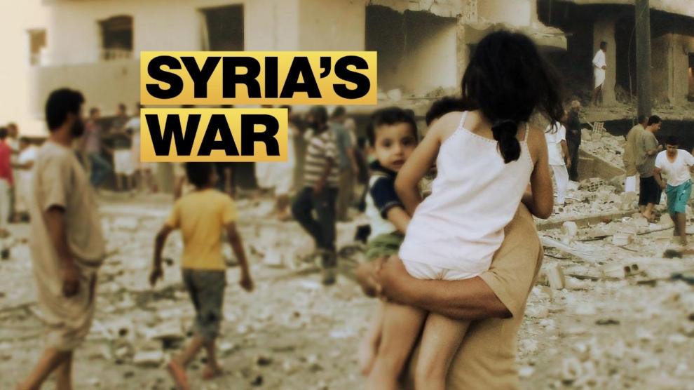 live syrian war map