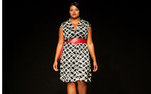 Thumbnail image for Fashion first when plus-size styles hit runway