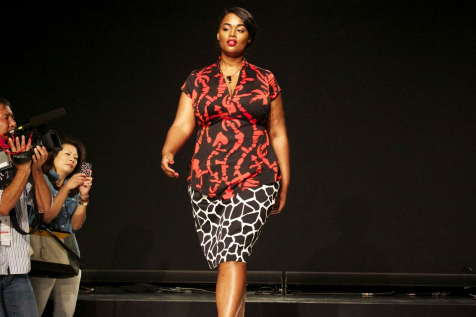 Plus Size Fashion Show Miller tells plus size women