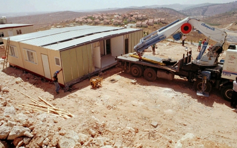 Thumbnail image for Israeli settlements: A photo history