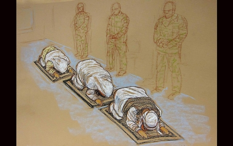 Thumbnail image for An artist at Guantanamo Bay