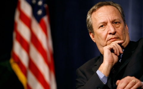 Lawrence Summers, director of the National Economic Council