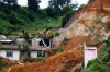 The Xaltepec landslide caused fatalities, damaged buildings and left a gash on a hillside.