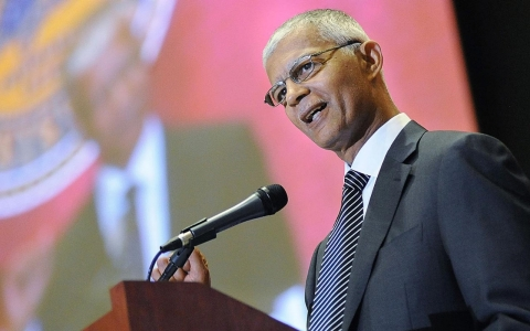 Chokwe Lumumba, a former vice president for the Republic of New Afrika, was elected mayor of Jackson, Miss. in June
