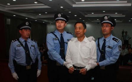 Bo Xilai guilty of corruption, sentenced to life in prison