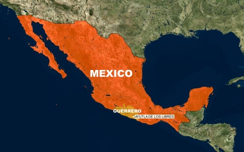 Guerrero, the so-called warrior state, is in southern Mexico.