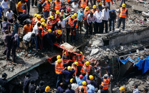 Thumbnail image for Dozens dead in Mumbai building collapse