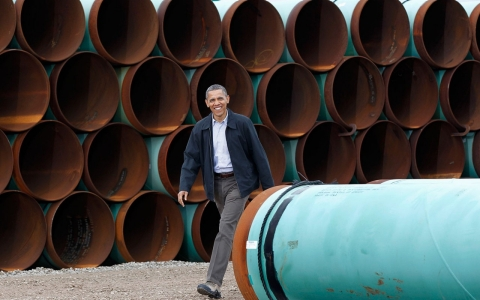 Thumbnail image for Obama faces nagging dilemma over Keystone XL