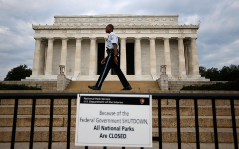 Federal government shut down
