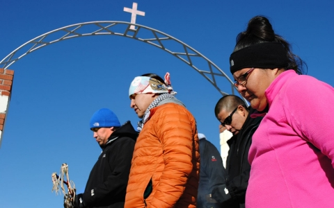 Thumbnail image for Retracing the route of those who survived the Wounded Knee massacre