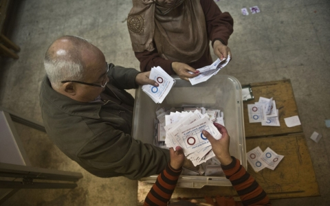 Thumbnail image for Egypt votes overwhelmingly for new constitution