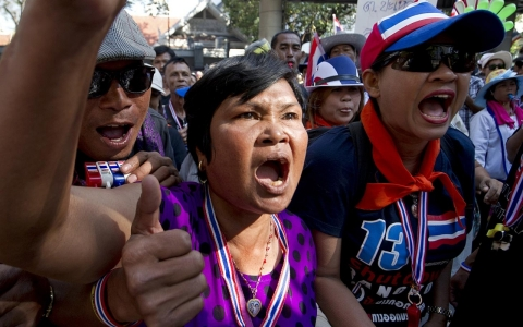 Thumbnail image for Thai PM says election will go ahead despite new violence, protests
