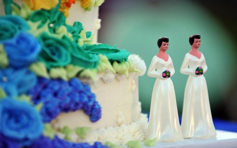 bakery same sex marriage in Klerington