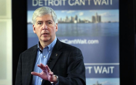 Thumbnail image for Governor backs $350M plan for Detroit financial woes