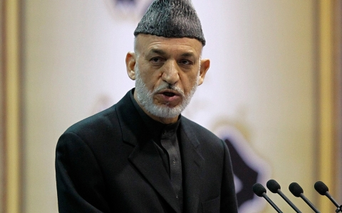Thumbnail image for Karzai says US should re-engage Taliban peace talks or leave country