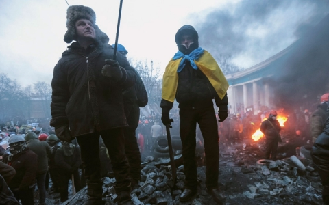 Thumbnail image for Ukraine: Protest leaders reject president's offer as violence flares