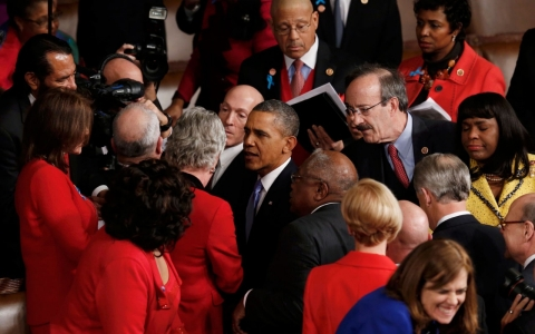 Thumbnail image for Women front and center in Obama's State of the Union address