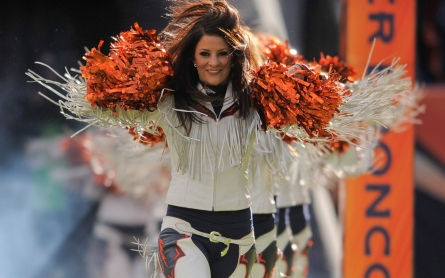 NFL cheerleaders admit their work 'doesn't pay the bills' but love it