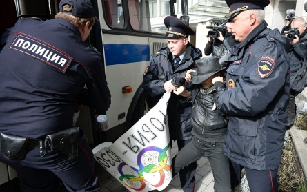 Russia reverses blanket ban on protests around Sochi Olympics