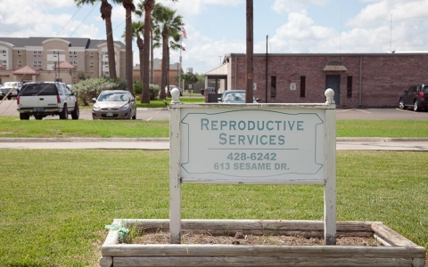 Reproductive Services of Harlingen, one of two abortion clinics in the Rio Grande Valley, had to stop providing abortions after the new law went into effect