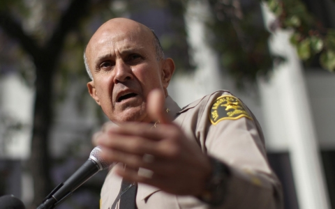 Thumbnail image for Los Angeles Sheriff Lee Baca announces retirement