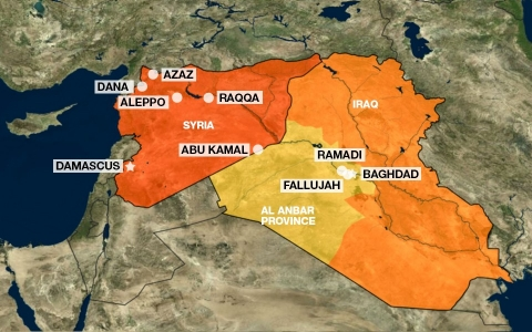 ISIL areas of activity