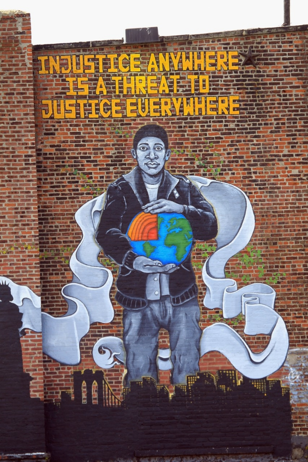 ny court applies native american traditions to modern justice al a mural in red hook brooklyn bruce bennett afp getty images