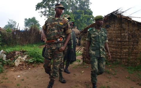 Thumbnail image for Children 'bashed against walls' in DR Congo massacre, government says