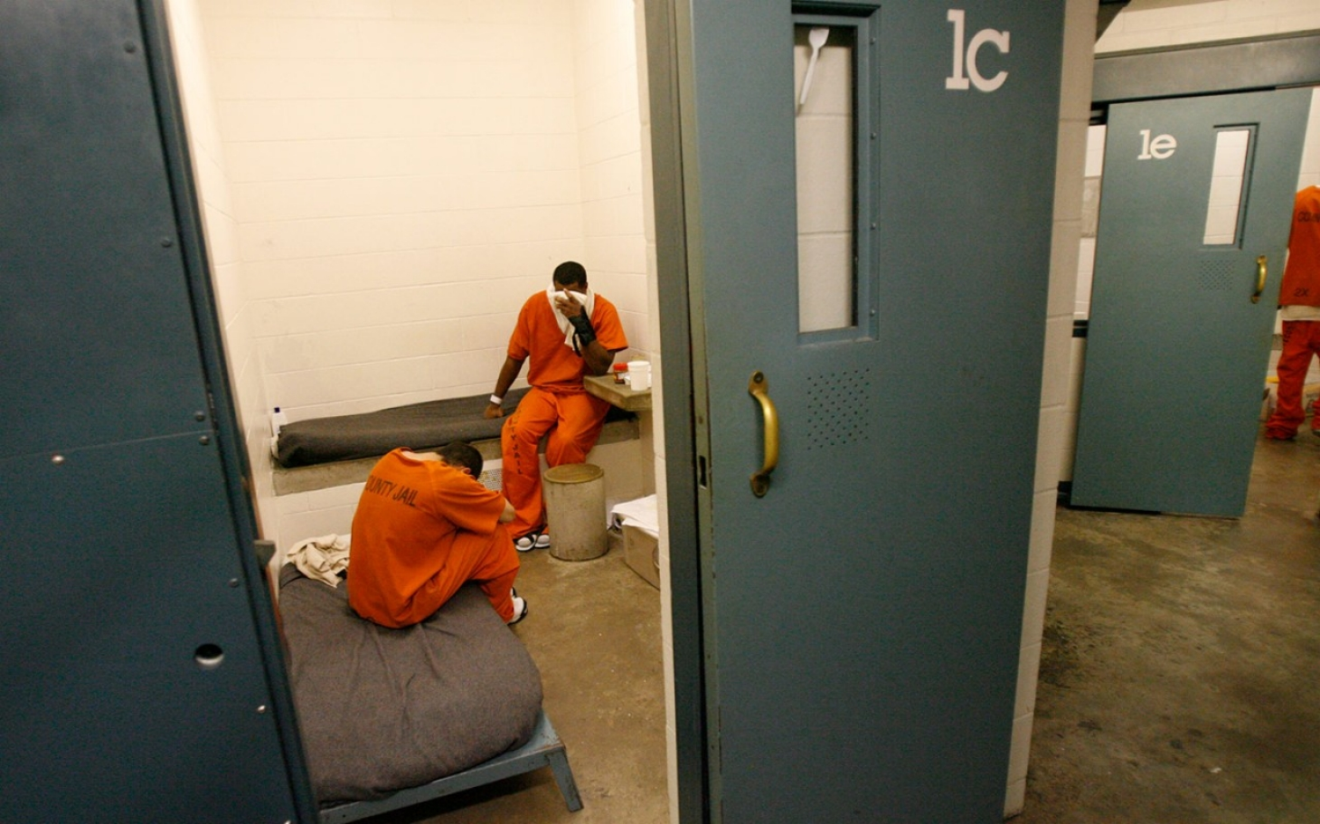 Texas jail allegedly kept mentally ill inmate in fetid cell