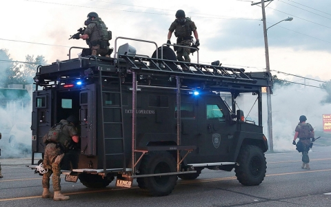 Thumbnail image for 'Let's put away the toys, boys': Ferguson spotlights police militarization