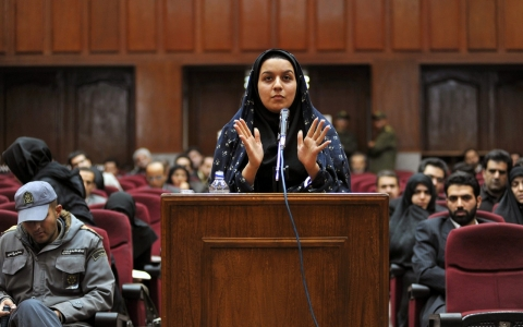 Thumbnail image for Iran hangs woman convicted of killing alleged rapist