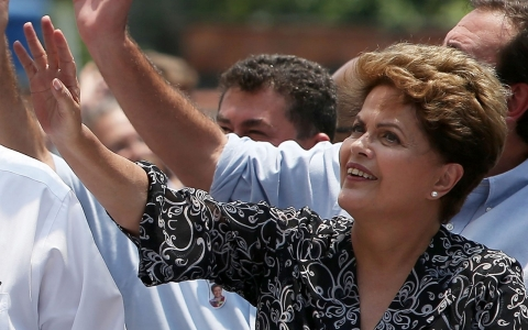 Thumbnail image for Brazil's left-leaning President Rousseff wins second term
