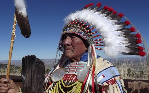 Thumbnail image for Last of the Crow war chiefs turns 101 in Montana