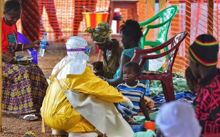 World Bank chief urges medics to ignore fearmongering, join Ebola fight