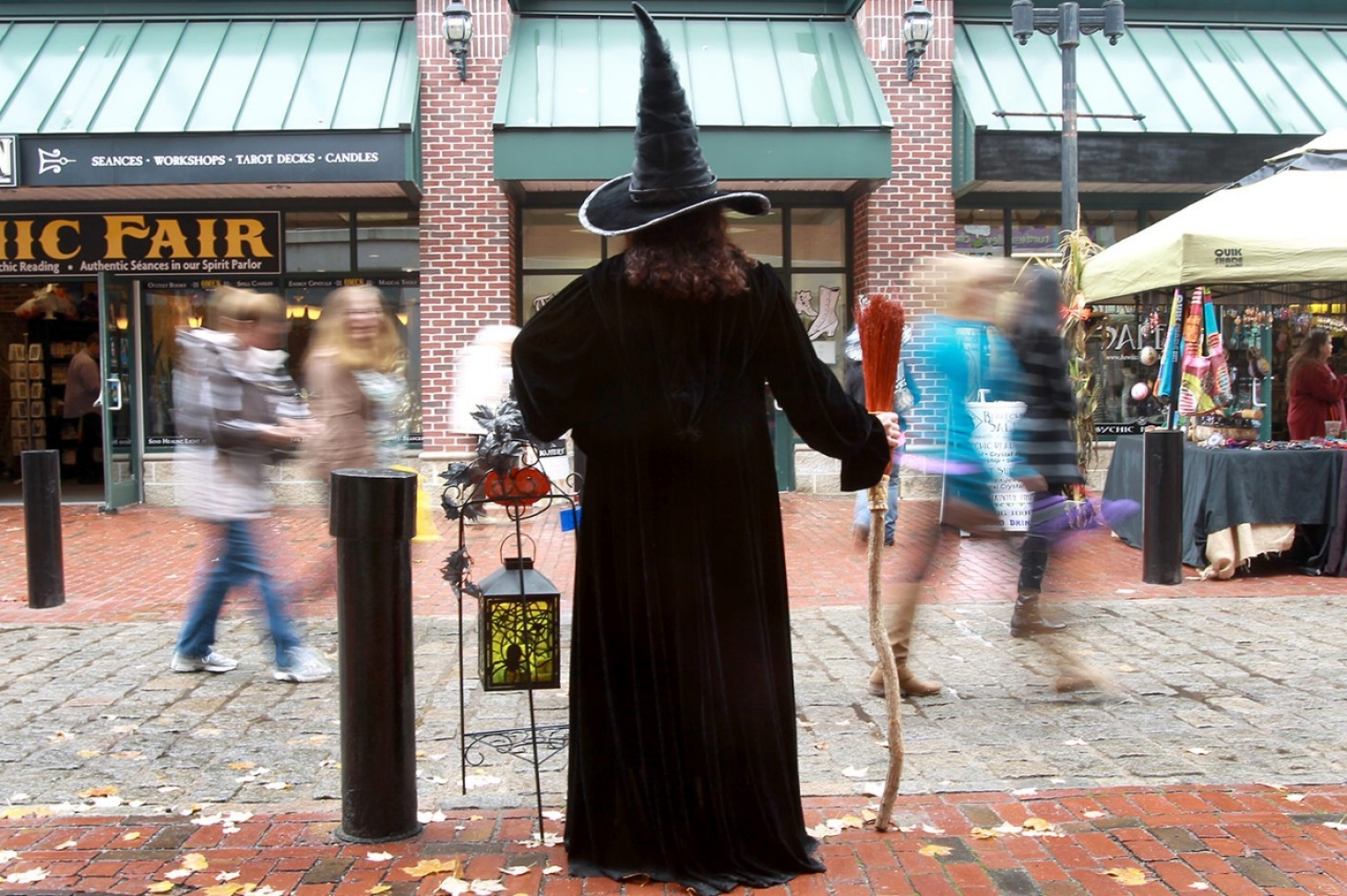 For the roots of Salem witch hysteria, look at the next town over