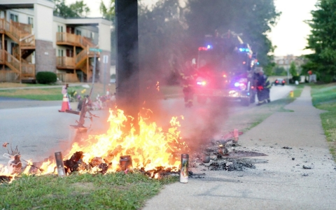 Thumbnail image for Fresh round of rage in Ferguson over accountability for Brown shooting