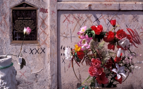 Thumbnail image for Unveiling the refurbished tomb of New Orleans' 'Voodoo queen'