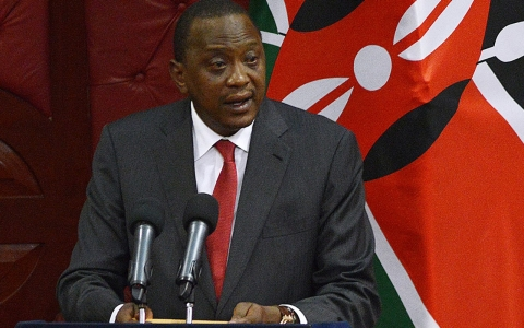 Thumbnail image for Kenyan president steps down to face criminal court in The Hague