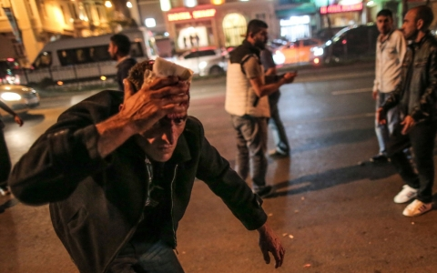 Thumbnail image for Kurds protest in Turkey over besieged Syrian town