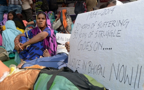 Thumbnail image for Bhopal disaster victims stage hunger strike for higher compensation