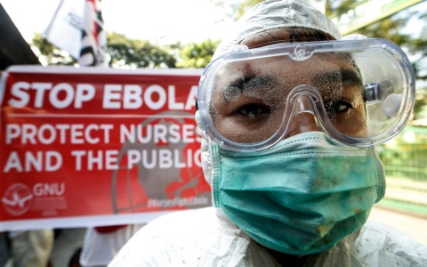 Thumbnail image for Nurses strike over Ebola concerns as death toll ticks above 5,000