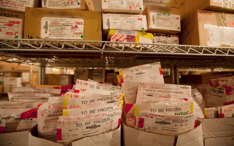 Thumbnail image for 'Rape kit' DNA test backlog means justice is often delayed