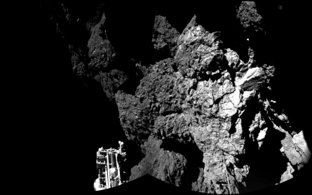 Shaded landing site could spell doom for comet probe's solar batteries