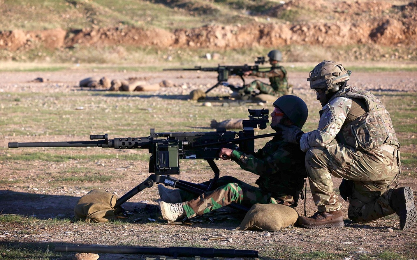 US Marines Enter Battle In Iraq To Help Army And Peshmerga