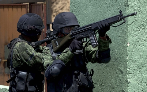 Thumbnail image for Mexican soldiers charged in civilian court