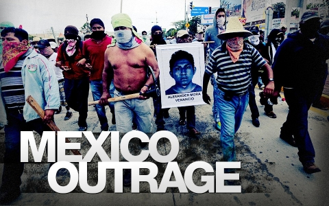 Mexicans converge on capital for mass protest over missing ...