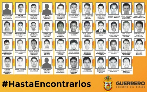 Thumbnail image for Protests over missing students spread in Mexico