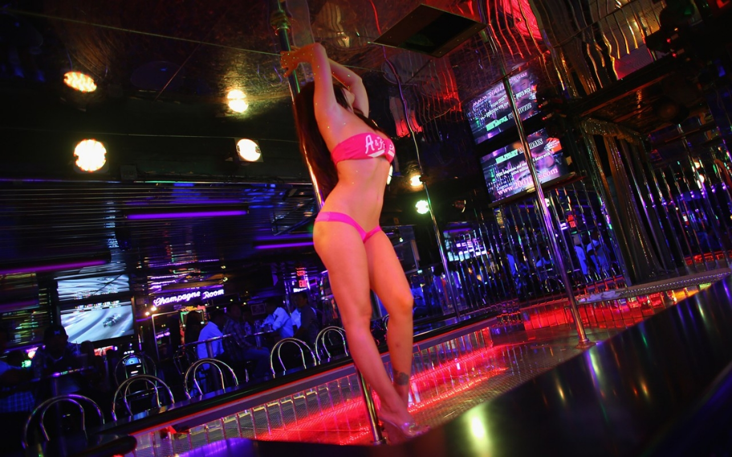 Club dancer stripper