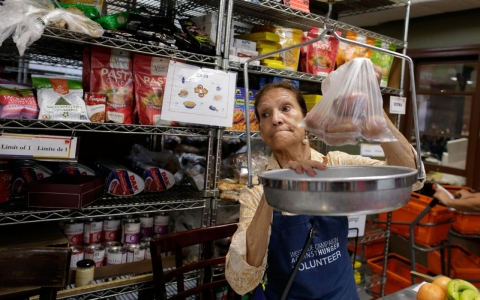 Thumbnail image for Food pantries stretched to breaking point by food stamp cuts