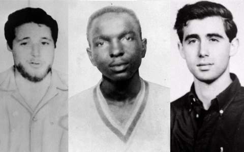 Thumbnail image for Slain 'Mississippi Burning' workers honored, 50 years later